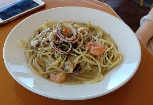 プラージュスッド 海の幸のスパゲッティ